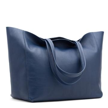 Cuyana Leather Shopper Tote