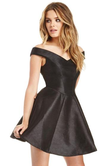 Dailylook Cameo Your Song Dress In Black Xs - M