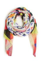 Dailylook Vismaya Geometric Scarf In Multi-colored At Dailylook
