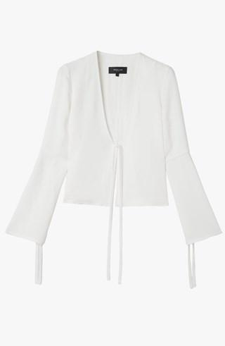 Derek Lam Bell Sleeves Short Jacket