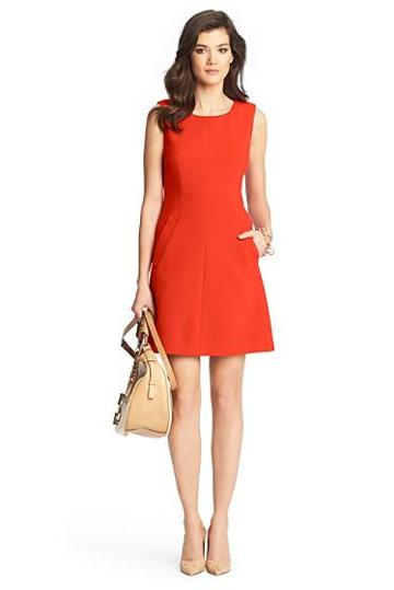 Diane Von Furstenberg Carpreena Mini A-line Ceramic Dress
