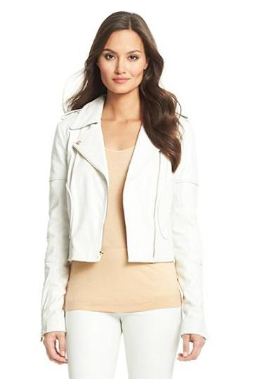 Diane Von Furstenberg Theodora Leather Jacket