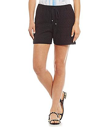 Two By Vince Camuto Floral Eyelet Shorts