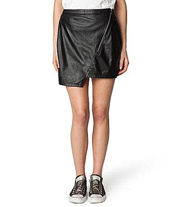 Sanctuary Clothing Blogger Faux-leather Skirt