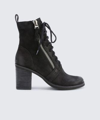 Dolce Vita Lela Booties Black