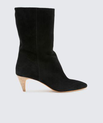 Dolce Vita Davi Booties Off White