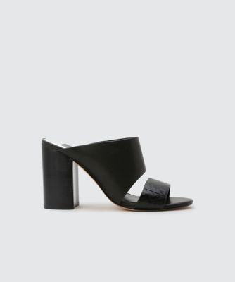 Dolce Vita Rocko Heels Black