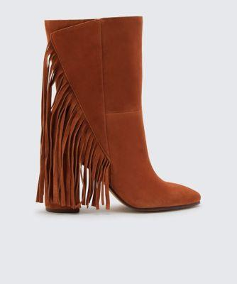 Dolce Vita Rhoda Booties Brown