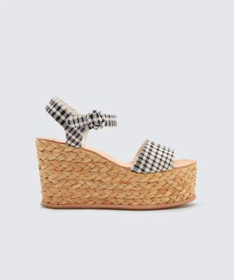 Dolce Vita Dane Wedges Black/white