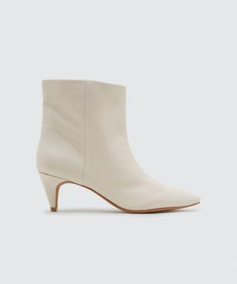 Dolce Vita Dee Booties Ivory