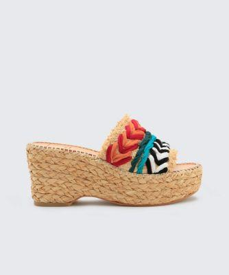 Dolce Vita Lupe Wedges Natural Multi