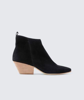 Dolce Vita Pearse Booties Black