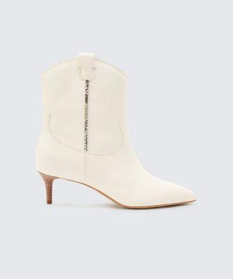 Dolce Vita Reece Booties Off White