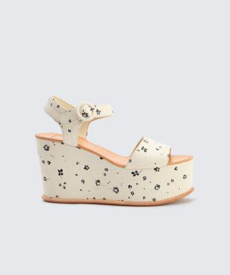 Dolce Vita Datiah Wedges White Floral