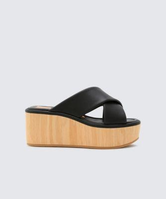 Dolce Vita Vinita Wedges Black