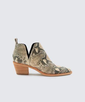 Dolce Vita Sonni Booties Snake