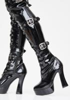 Demonia Made For Sin Thigh High Boots