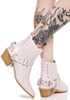 Cape Robbin Pastel Western Pointed Boots