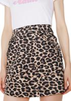 Lazy Oaf Purrfect Printed Skirt