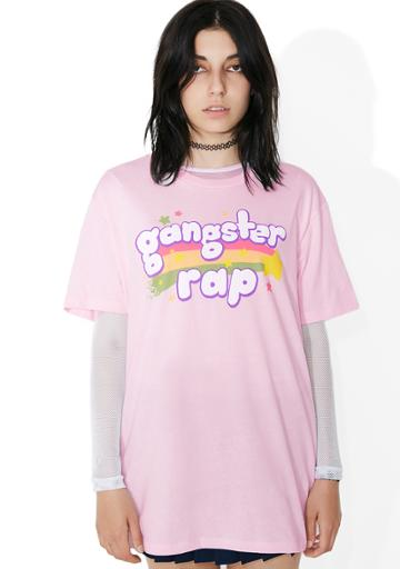 Goodie Two Sleeves Rainbow Rap Graphic Tee