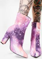 Cape Robbin Cosmic Ankle Boots