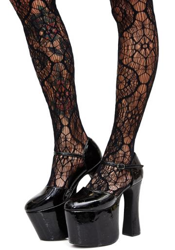 Leg Avenue Caught In Your Web Tights
