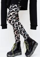 Be Wicked Tribal Printed Tights