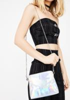 Joia Holographic Chain Crossbody