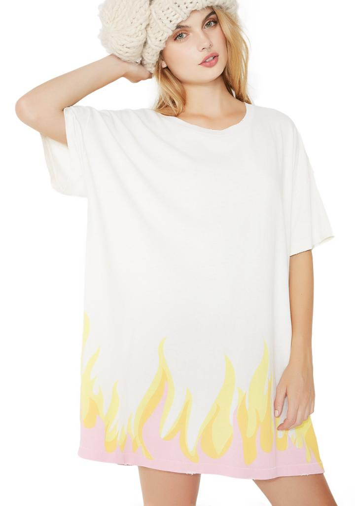 Wildfox Couture Wildfire T-shirt Dress