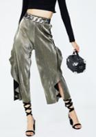 Dance & Marvel Pleated Frills Culottes