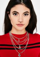 Fame Accessories Layered Charm Necklace