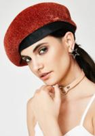 Fame Accessories Slouchy Red Beret