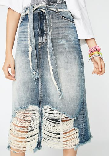 Cult Of Individuality Long Skirt