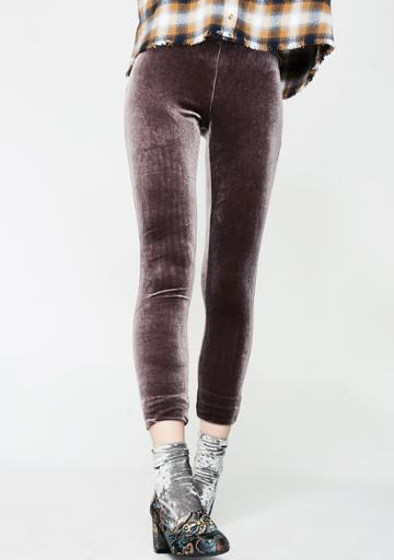 Nude Label Mocha Velvet Leggings