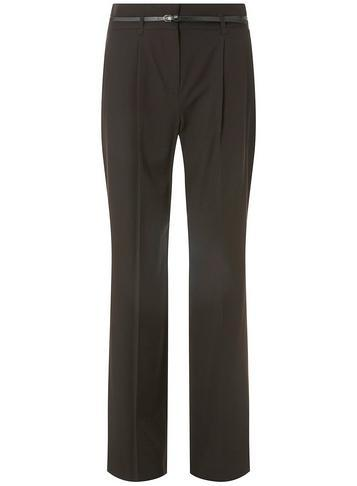 Dorothy Perkins Black Wide Leg Belted Trousers