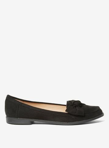 Dorothy Perkins Black 'leena' Loafers