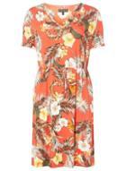 Dorothy Perkins Blush Floral Print T-shirt Dress