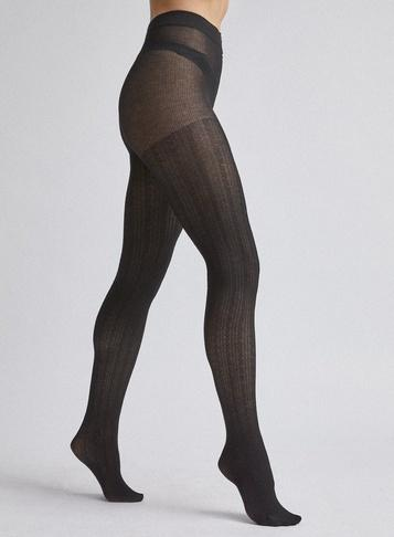 Dorothy Perkins Black 1 Pack Cable Knit Tights