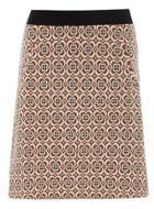 Dorothy Perkins 70's Floral Aline Mini Skirt