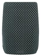 Dorothy Perkins Green Circle Print Mini Skirt