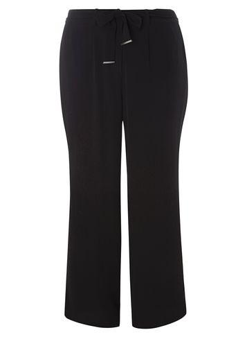 Dorothy Perkins *dp Curve Black Palazzo Trousers