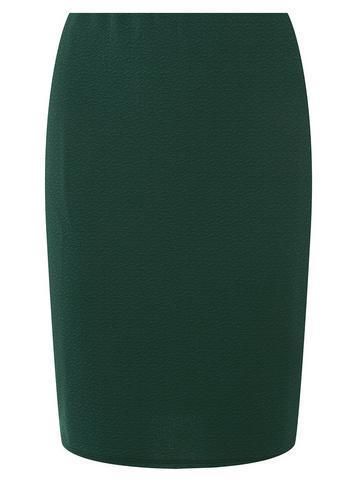 Dorothy Perkins *tall Green Textured Mini Skirt
