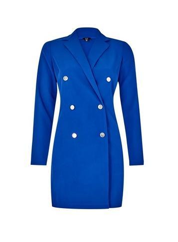 *lola Skye Cobalt Tuxedo Dress