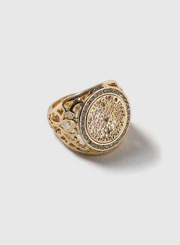 Dorothy Perkins Gold Sovereign Ring