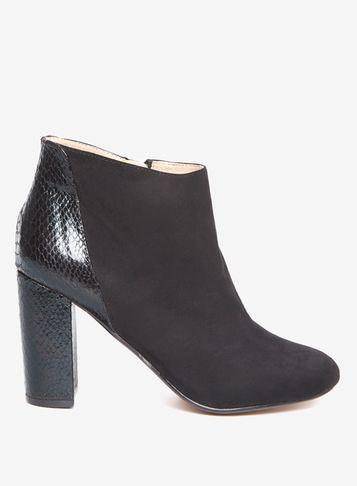 Dorothy Perkins *lily & Franc Black 'jemima' Boots