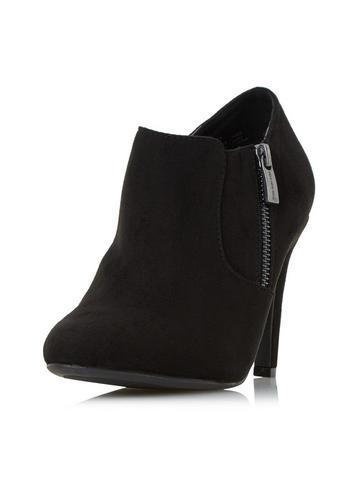 Dorothy Perkins *head Over Heels By Dune Black Olisa Ankle Boots