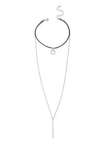 Dorothy Perkins Choker And Drop Necklace
