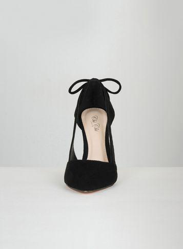 Dorothy Perkins *chi Chi London Black Suede Court Shoes