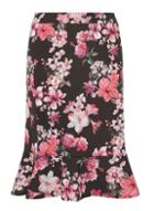 Dorothy Perkins Dp Curve Floral Print Peplum Pencil Skirt