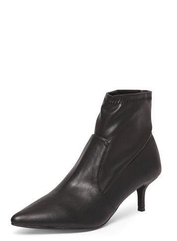 Dorothy Perkins Black 'marni' Kitten Boots